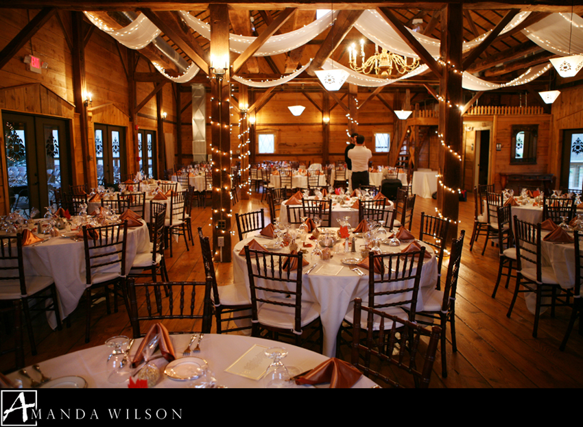 The Barn Sparkled And Glowed With Pumpkin Colored Silk